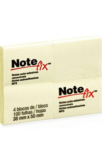Bloco-Adesivo-38x50-c.4und-100folhas-Amarelo-Notefix
